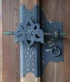 Detalhe da porta em Meiji Jingu Fotos de Stock Royalty Free