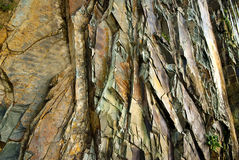 Detalhe da rocha Fotos de Stock Royalty Free