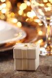 Detalhe da tabela do feriado foto de stock royalty free