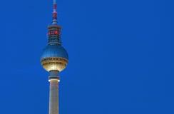 Detalhe da torre da tevê em Berlim Fotos de Stock Royalty Free