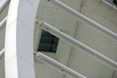 Detalhe da torre da vela de fortuna. Portsmouth, Inglaterra foto de stock