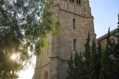 Detalhe da torre de sino da igreja foto de stock royalty free