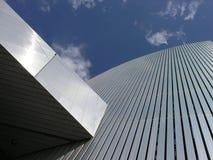 Detalhe da torre do museu fotos de stock royalty free