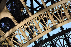Detalhe da torre Eiffel fotografia de stock royalty free
