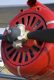 Detalhe da turbina do avião Fotografia de Stock Royalty Free