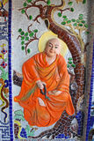 Detalhe Dalat Vietname do templo Fotografia de Stock