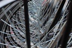 Detalhe das bicicletas Fotos de Stock Royalty Free
