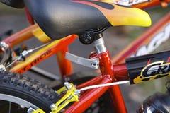 Detalhe das bicicletas dos miúdos Fotografia de Stock Royalty Free