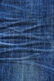 Detalhe das calças de brim Imagens de Stock Royalty Free