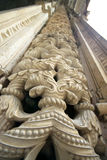 Detalhe das capelas do inperfect do monastério de Batalha foto de stock royalty free