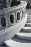 Detalhe das escadas da Biblioteca do Congresso imagem de stock royalty free