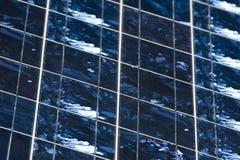 Detalhe das pilhas Photovoltaic Imagem de Stock Royalty Free