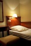 Detalhe de única cama imagens de stock