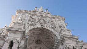 Detalhe de Arco Rua Augusta Foto de Stock Royalty Free