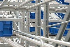 Detalhe de armazém industrial Fotografia de Stock