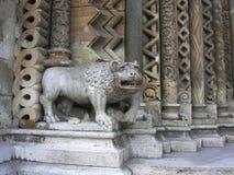 Detalhe de arquitetura gótico em uma igreja Imagens de Stock