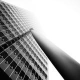Detalhe de arranha-céus em Rotterdam, Holanda fotografia de stock