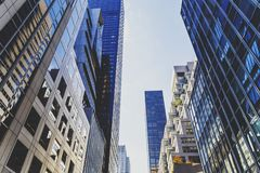 Detalhe de avenida do ` s 5o de Manhattan com arquitetura bonita Imagens de Stock Royalty Free