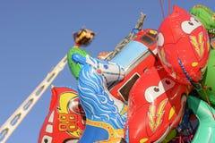 Detalhe de balões coloridos em Oktoberfest, Estugarda Foto de Stock Royalty Free