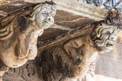 Detalhe de balcão barroco Imagens de Stock Royalty Free