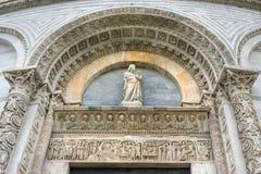 Detalhe de Baptistery de Pisa de St John Pisa, Italy fotos de stock royalty free