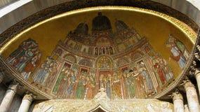 Detalhe de basílica da marca do st imagens de stock royalty free