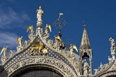 Detalhe de basílica do `s da marca do St Fotografia de Stock Royalty Free