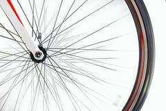 Detalhe de bicicleta da estrada quando girar imagens de stock