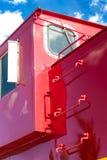 Detalhe de Caboose do trem Fotografia de Stock Royalty Free