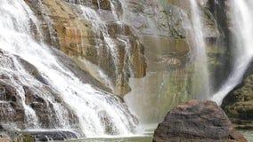 Detalhe de cachoeira de Pongour em Vietname vídeos de arquivo