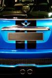 Detalhe de carro desportivo compacto imagens de stock royalty free