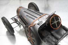 Detalhe de carro muito velho Imagem de Stock