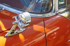 Detalhe de carro retro fotos de stock