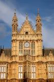Detalhe de casa do parlamento, Londres Fotos de Stock Royalty Free