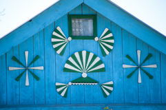 Detalhe de casa romena velha Imagem de Stock