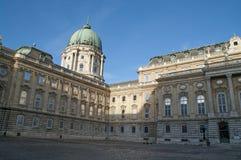 Detalhe de castelo de Buda em Budapest Foto de Stock
