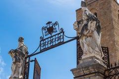 Detalhe de Catedral-basílica de Cefalu Fotografia de Stock Royalty Free