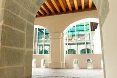 Detalhe de centro de San Pablo Cultural em Oaxaca México foto de stock