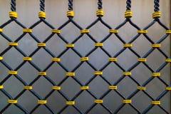 Detalhe de cerca da janela em Veneza Imagens de Stock