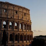 Detalhe de Colosseum Foto de Stock Royalty Free