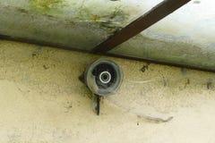 Detalhe de construção abandonado velho Foto de Stock Royalty Free