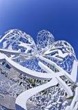 Detalhe de corpo da escultura de conhecimento Fotos de Stock Royalty Free