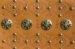 Detalhe de correia tradicional do slovak Imagens de Stock Royalty Free