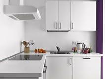 Detalhe de cozinha moderna Imagens de Stock Royalty Free