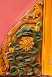 Detalhe de decorações em uma parede, Pequim, China Fotos de Stock Royalty Free