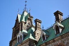 Detalhe de edifício do parlamento, Ottawa Imagem de Stock Royalty Free