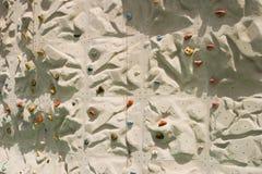 Detalhe de escalada da parede Fotos de Stock Royalty Free