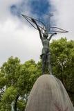 Detalhe de estátua memorável da paz das crianças em Hiroshima foto de stock royalty free
