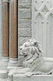Detalhe de estrutura do cemitério do 19o século Imagem de Stock Royalty Free
