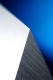Detalhe de faca industrial afiada Foto de Stock
